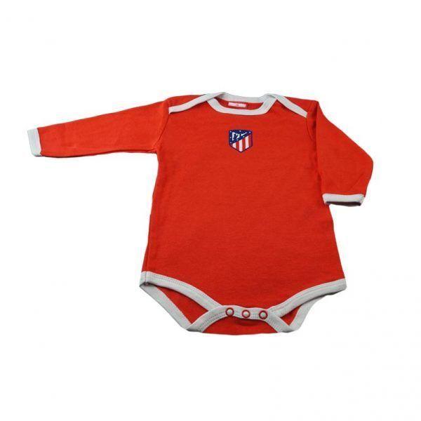 Body rojo para bebés del Atlético de Madrid, talla 6 meses. Producto oficial