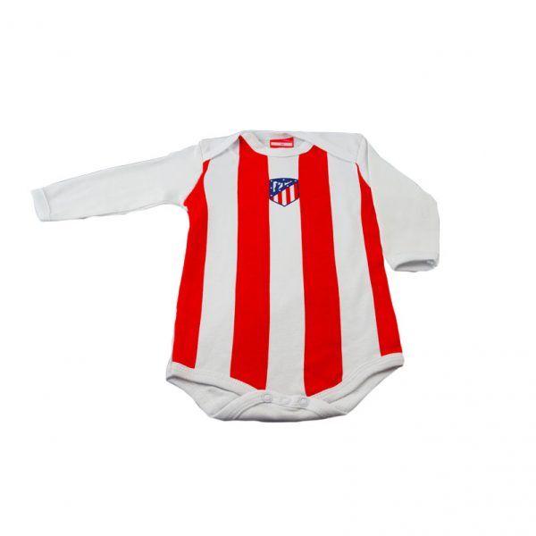 Body rojiblanco del Atlético de Madrid. Producto oficial