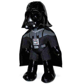 Peluche de Darth Vader en color negro de cms de alto aproximadamente