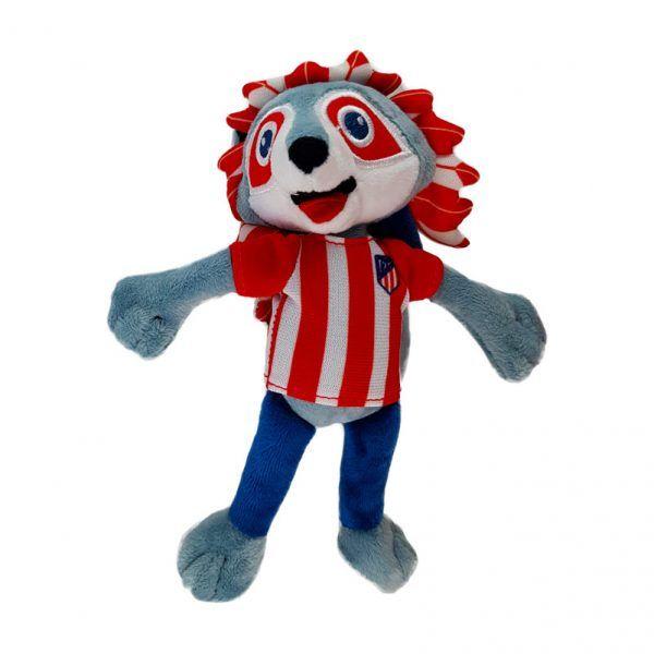Peluche de la mascota del Atlético de Madrid.