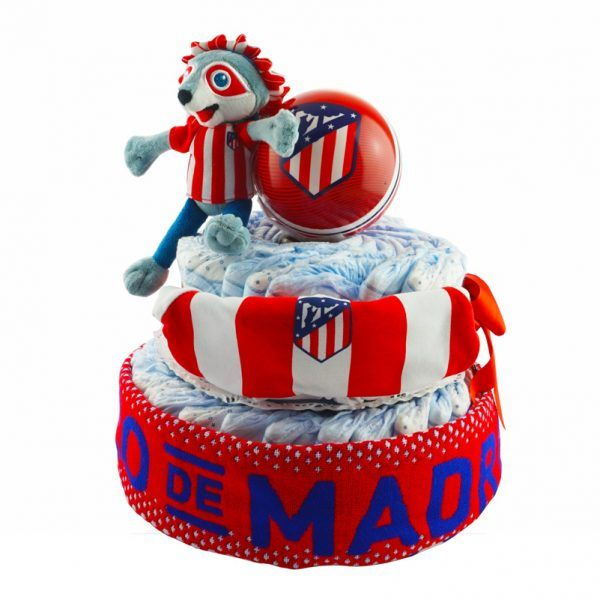 Tarta de pañales Atlético de Madrid de Madrid