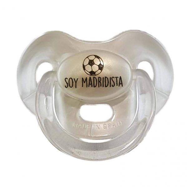 Chupete perlado Soy Madridista