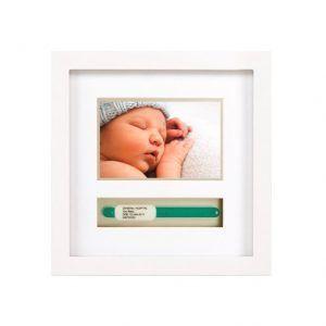 Marco para foto y pulsera de maternidad