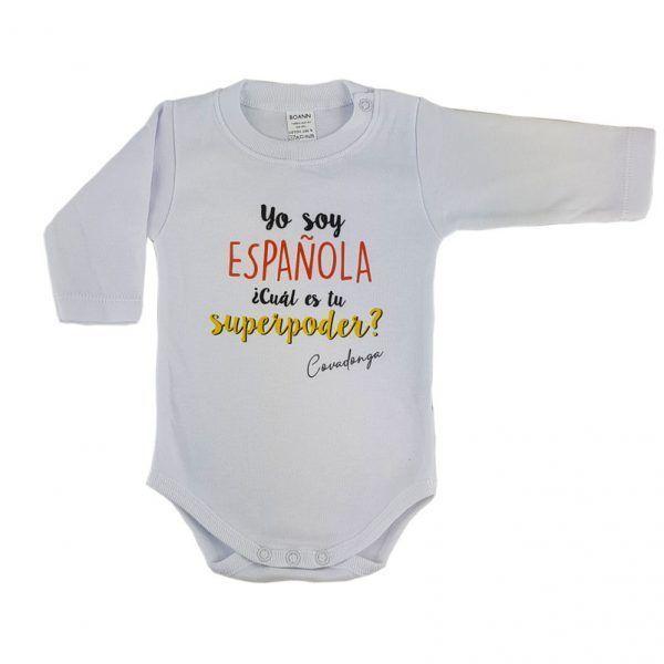 Body con nombre yo soy española