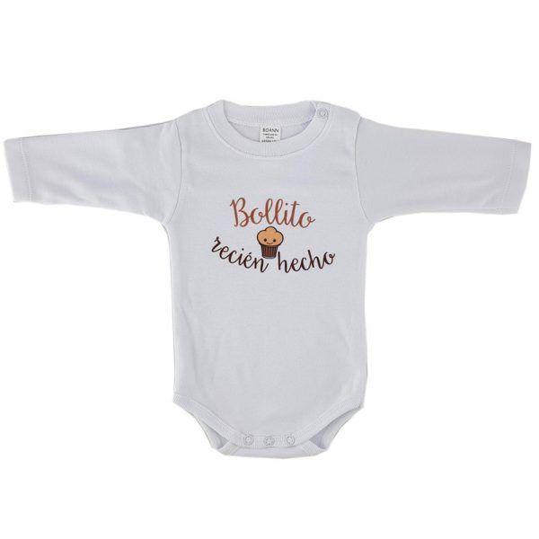 Body unisex para bebé bollito recién hecho