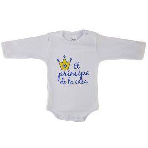 Body bebé niño príncipe de la casa