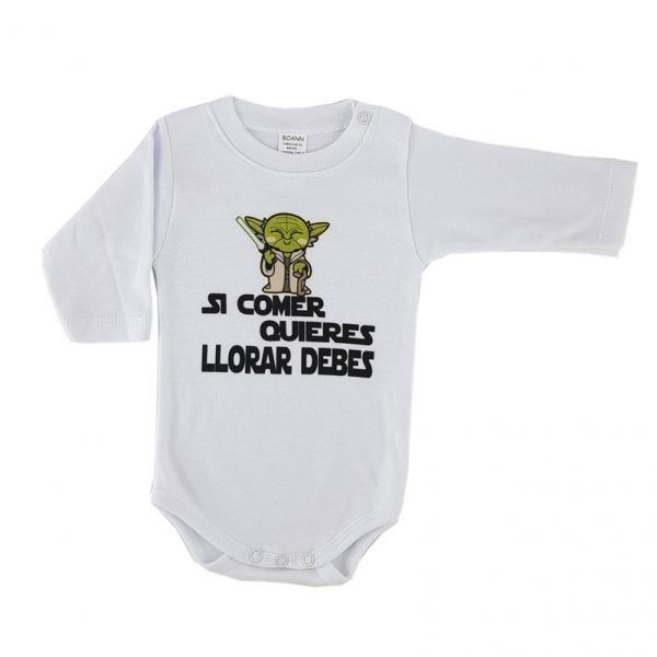 Body bebé Star Wars