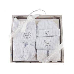 Caja conjunto de ropa para recién nacido