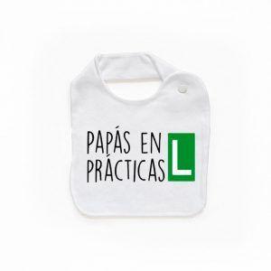 Babero papás en prácticas