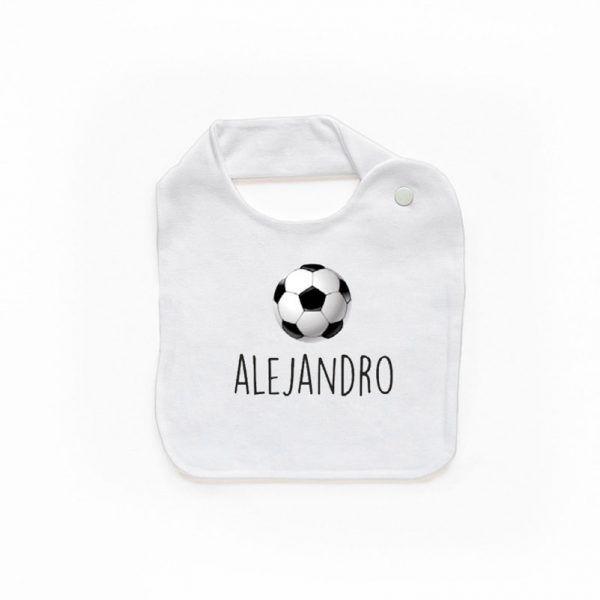 Babero personalizado fútbol