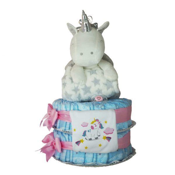 Brilli Tarta de pañales unicornio