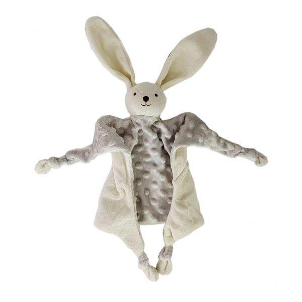 Doudou gris conejo