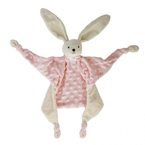 Doudou rosa conejo