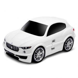 Maleta Maserati blanca para niños