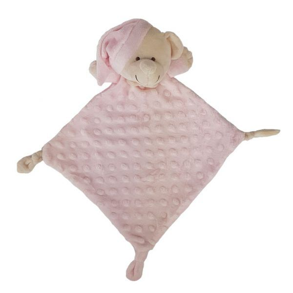 Doudou oso rosa