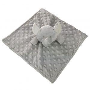Doudou elefante gris