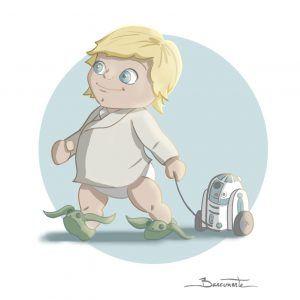 poster Star Wars Luke